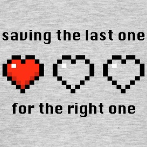 Saving the last one - Mannen T-shirt