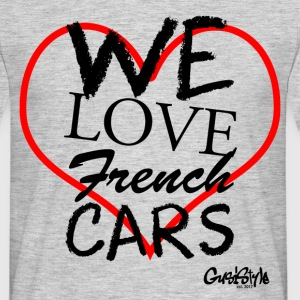 #welovefrenchcars ved GusiStyle - Herre-T-shirt