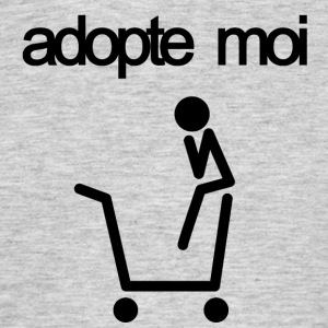 adopte moi - T-shirt Homme