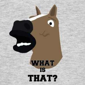 WAT IS DAT? - Mannen T-shirt
