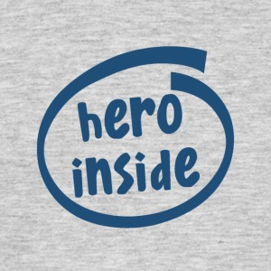 hero inside (1802C) - Men's T-Shirt