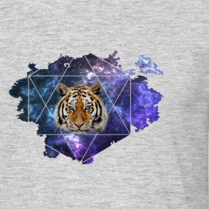 Galaxy Tiger - T-shirt herr