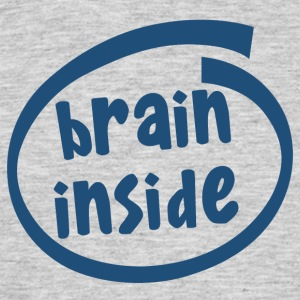 brain inside (1800C) - Men's T-Shirt