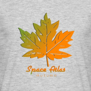 Space Atlas Long Sleeve T-Shirt Autumn Leaves - Men's T-Shirt