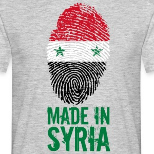 Made in Syria / Made in Syria الجمهورية - Men's T-Shirt