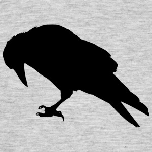 Expandables Crow / Crow / Raabe sitting - Men's T-Shirt