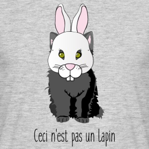 chat lapin - T-shirt Homme