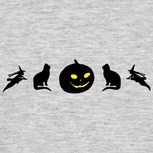 Halloween Cat - Men's T-Shirt