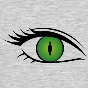 Wild cat eye green - Men's T-Shirt