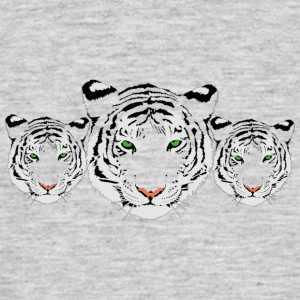 withe Tiger - T-shirt herr