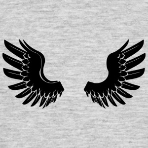Black Angelwings - T-shirt Homme
