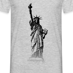 Around The World: Statue of Liberty - New York - Mannen T-shirt