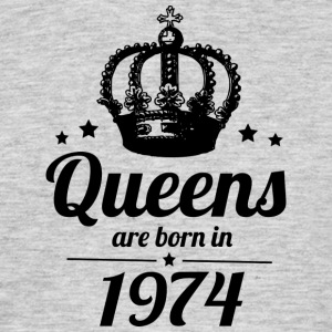 Queen 1974 - Men's T-Shirt