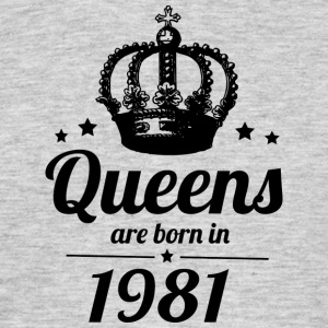 Queen 1981 - Men's T-Shirt
