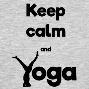 Keep calm and Yoga - Men's T-Shirt