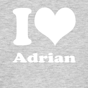 I love Adrian - Men's T-Shirt
