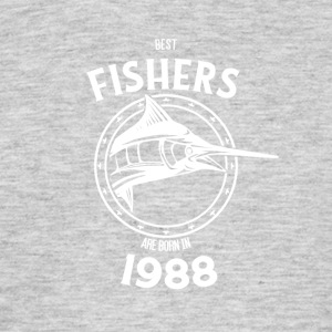 Present for fishers born in 1988 - Men's T-Shirt