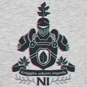 Knight with shield - Men's T-Shirt