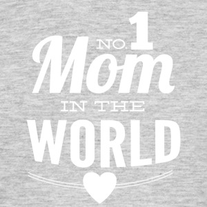 number 1 mom in the world black - Men's T-Shirt
