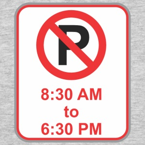 Road sign no parking from 8 30 - Men's T-Shirt