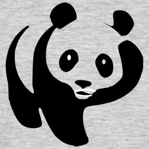 Sweet silly Panda - Men's T-Shirt