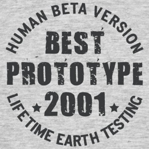 2001 - The birth year of legendary prototypes - Men's T-Shirt