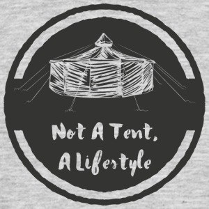 not_a_tent_jurte - Men's T-Shirt