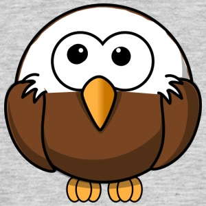 Eagle with bald comic style - Men's T-Shirt