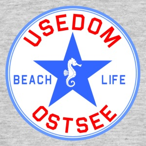 Usedom_Seepferd - Men's T-Shirt