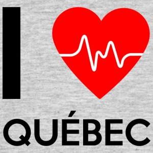 I Love Quebec - I love Québec - Men's T-Shirt