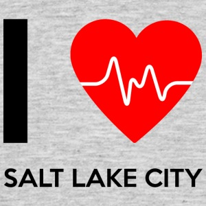 I Love Salt Lake City - Ich liebe Salt Lake City - Männer T-Shirt