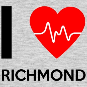 I Love Richmond - Ich liebe Richmond - Männer T-Shirt