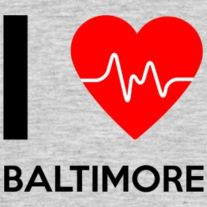 J'aime Baltimore - I Love Baltimore - T-shirt Homme