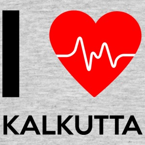 I Love Calcutta - I Love Kolkata - T-skjorte for menn