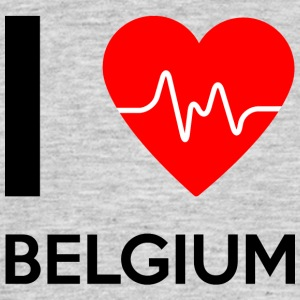 I Love Belgium - I Love Belgium - Men's T-Shirt