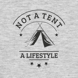 not_a_tent - T-skjorte for menn