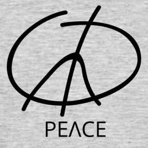 Symbole de la Paix - Peace Sign - T-shirt Homme