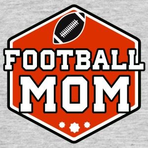 Football Mom - T-skjorte for menn