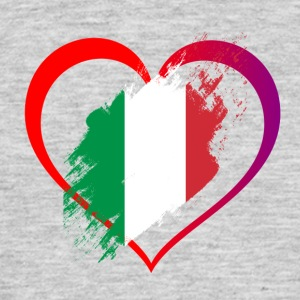 I LOVE ITALY COLLECTION - Männer T-Shirt