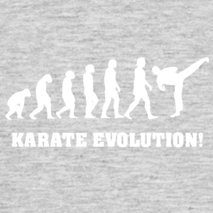 Karate evolutie - Mannen T-shirt