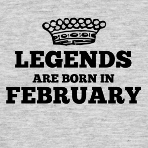 Legends föds i februari - T-shirt herr