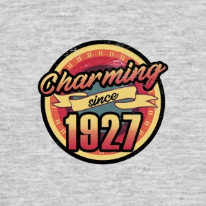 Gift for the 90th birthday - vintage 1927 - Men's T-Shirt
