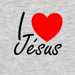 I love Jesus - Men's T-Shirt