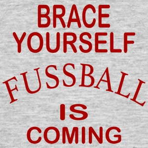 Brace Yourself Football Is Coming - Red - T-shirt Homme