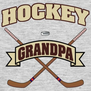 hockey Opa - Mannen T-shirt