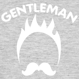 GENTLEMAN white - Men's T-Shirt
