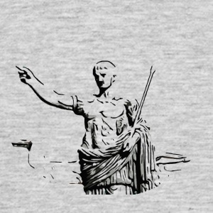 Black and White Gladiator - Mannen T-shirt