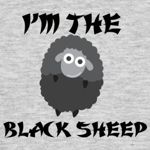 Sheep / Farm: I'm The Black Sheep - Men's T-Shirt
