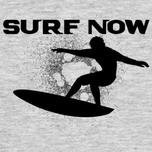 surf now 4 black - Men's T-Shirt
