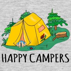 Camping Happy Campers - Männer T-Shirt